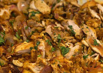 Sheet Pan Chicken Shawarma Recipe