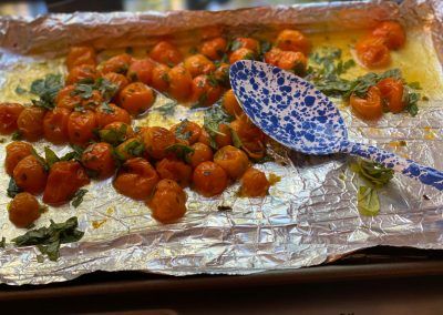 White Fish With Herbed Cherry Tomatoes Recipe