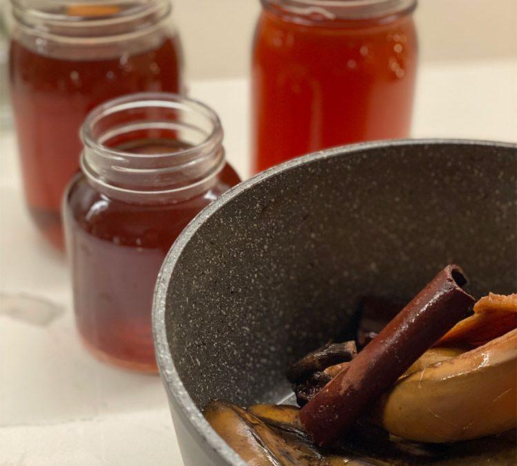 Spiced Banana Peel Sleep Tea Recipe
