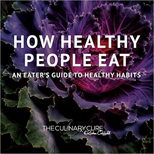how healthy people eat book