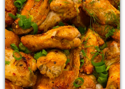 Healthy Spicy Chicken Wings Recipe