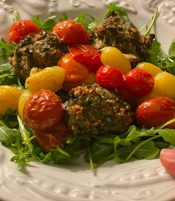 Yummy Turkey and Spinach Meatballs Recipe