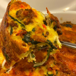 Spinach and Sausage Hash Brown Breakfast Bake Recipe