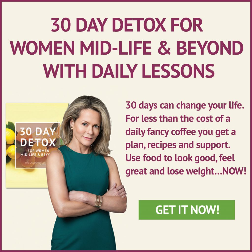 30 Day Detox for Women Mid-Life & Beyond with Daily Lessons
