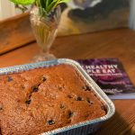 Loaf of Gluten-Free Banana Blueberry Bread