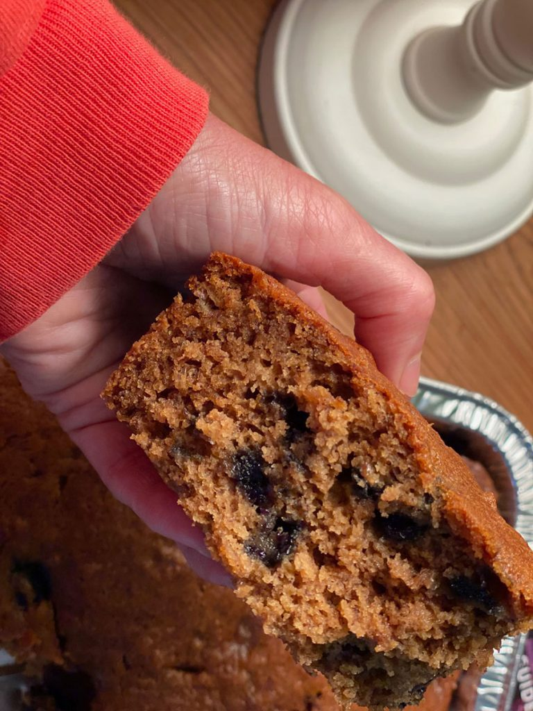 Gluten-Free Banana Blueberry Bread Recipe