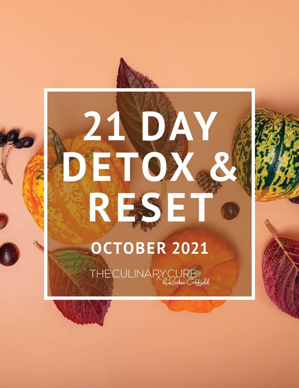 21 day detox